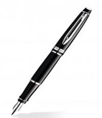 Waterman Expert Black CT FP Pen