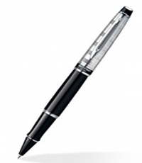 Waterman Expert Deluxe Black CT RB Pen