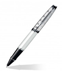 Waterman Expert Deluxe White CT RB Pen