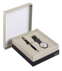 Parker Ellipse Black GT BP Pen Gift Set