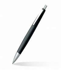 LAMY 2000 2000-101(0.7) BLACK PENCIL