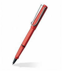 LAMY SAFARI RED ROLLER BALL PEN