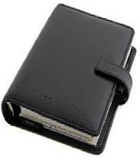 Filofax Personal Identity Black