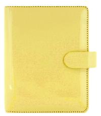 Filofax Pocket Lemon Patent