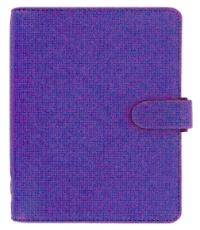 Filofax Purple Saffiano Diary