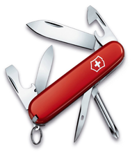 VICTORINOX INKER RED KNIFE