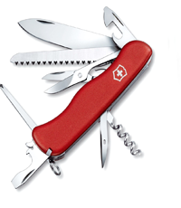 victorinox out rider red knife