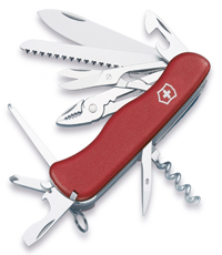 victorinox hercules red knife
