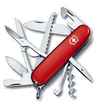 victorinox huntsman red knife