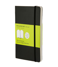 moleskine pocket black soft cover