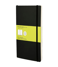 moleskine notebook black soft cover