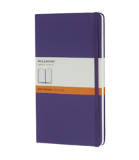 moleskine notebook violet hard cover