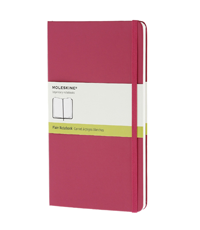 moleskine notebook magenta cover