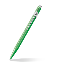 caran dache popline green pen