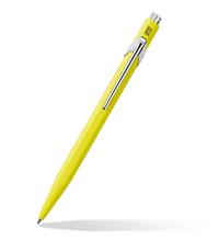 caran dache popline yellow pen