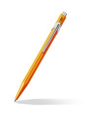 caran dache popline orange ballpoint pen