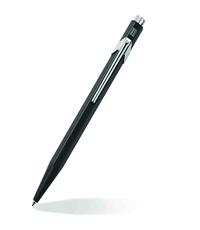 caran dache popline black ballpoint pen