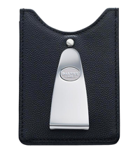 dalvey black credit card & money clip