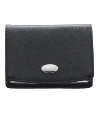 dalvey black leather card holder