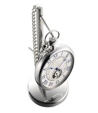 dalvey face pocket watch with stand