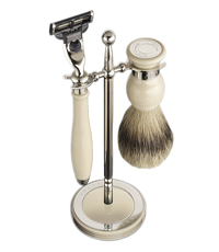dalvey classic shaving set ivory