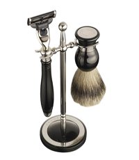 dalvey classic shaving set black