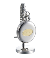 dalvey hunter pocket watch with stand