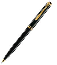 pelikan black k800 ball pen