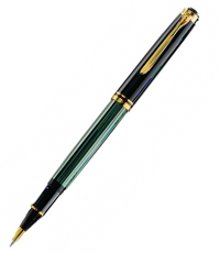 pelikan black green r800 ball pen