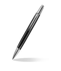 caran dache alchemix black ballpoint pen
