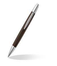 caran dache alchemix wenge ballpoint pen