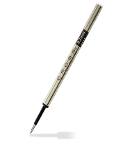 cross refill sleek black ball pen