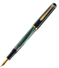 pelikan classic series m200 green pen